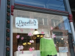 Outside Panello Boutique in Pittsburgh on Butler Street