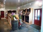 Inside Greendance main building view of wines